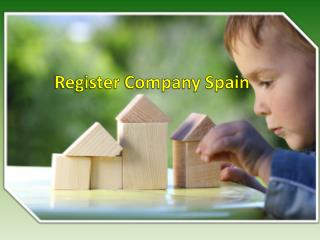 Major Agencies Associated to Register Company Spain