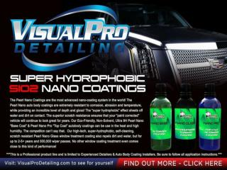 Visual Pro Detailing - offer the new Pearl Nano Coating system