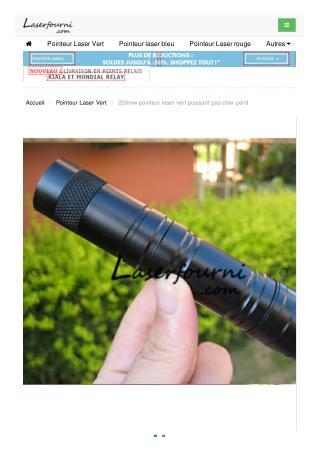 200mw pointeur laser vert puissant pas cher
