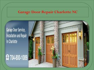 Garage Door Repair Charlotte NC - Repair