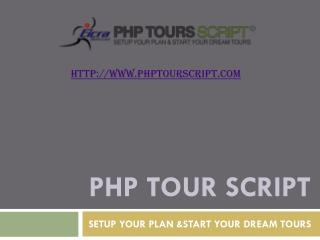 PHP Classified Tour Package Booking Software By Eicra Soft