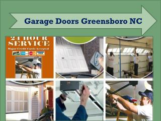 Garage Doors Greensboro NC - Repair & Installation