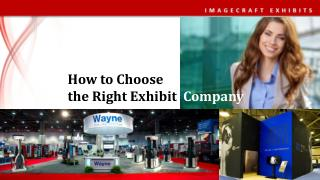 How to Choose Right Exhibit Company