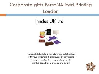 Corporate gifts PersoNAlized Printing London