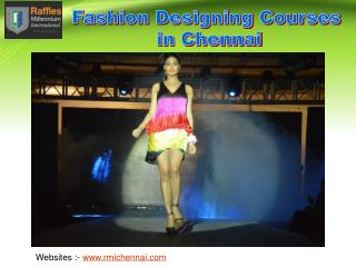 Right Guidance in Fashion Designing