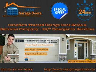 Garage Door Repair and Installation Services - Star Garage Doors