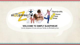 Sleepwear Online in Australia