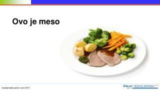 Ovo je meso