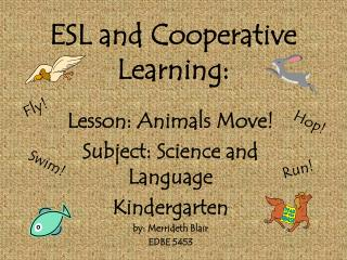 ESL and Cooperative Learning: