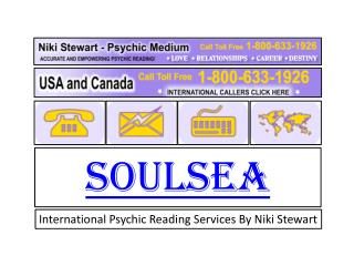 International psychic reading services by Niki Stewart