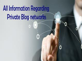 All  Information Regarding Private Blog Networks provide by PBN BARON