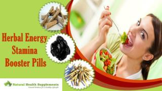 Herbal Energy Stamina Booster Pills To Maintain Health Of Body