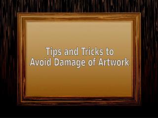 Tips & Tricks to Prevent Damage – Paintbox Art Frame