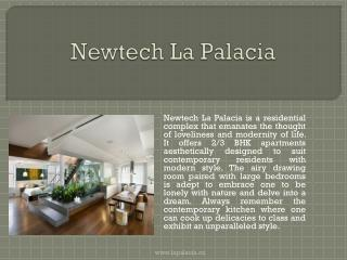 Newtech La Palacia Residential Project