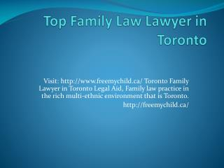 Best Family Lawyer in Toronto |Top Toronto Divorce Lawyer |freemychild.ca/