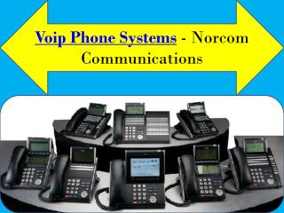 Voip phone systems - Norcom Communications