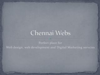 Chennai Webs – Web Service Provider
