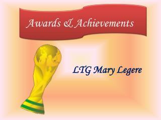 LTG Mary Legere - Successful Military Career