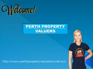Perth Property Valuers for property valuation
