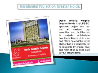 Residential Projects on Greater Noida