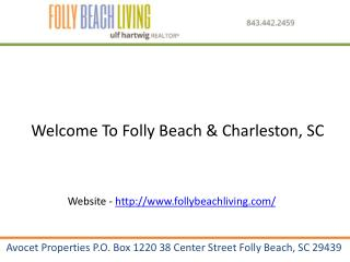 Homes for sale on folly beach sc