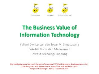 The Business Value of Information Technology