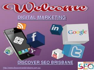 Digital Marketing by Discover SEO Brisbane