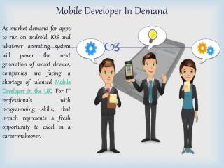 Mobile Apps developer London