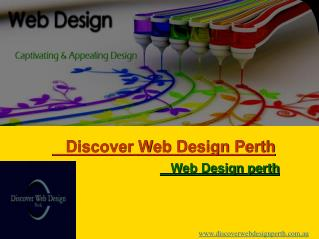 Web Design and development service provided in Perth
