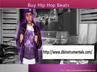 Buy Hip Hop Instrumentals