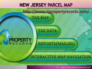 NJ Tax Map