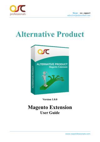 Alternative Product