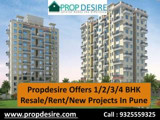 Propdesire Offers Resale/Rent/New Properties in Pune