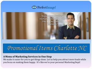 Promotional Items Charlotte NC