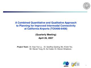 A Combined Quantitative and Qualitative Approach