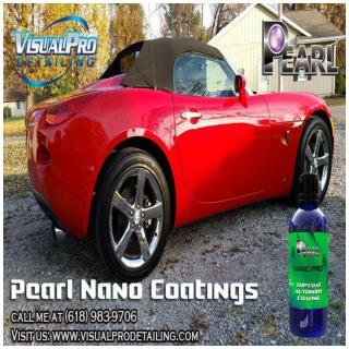 Pearl Nano Coatings- Never wax or seal again!