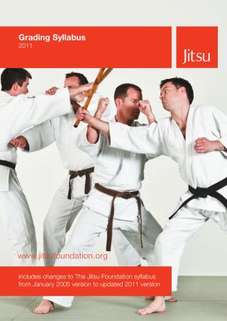 Western Warriors Martial Arts - Jitsu - TJF SYLLABUS 2011