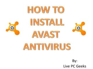 How to Install Avast Antivirus