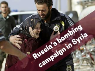 Russia's bombing campaign in Syria