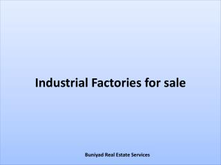 Industrial Factories for sale in Noida