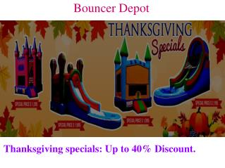Commercial Inflatable Water Slides in USA - Bounce Houses