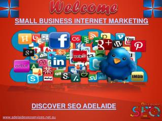 Small Business Internet Marketing Discover SEO Adelaide