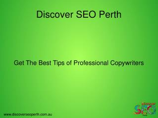 Best Tips for Professional Copywriters Perth
