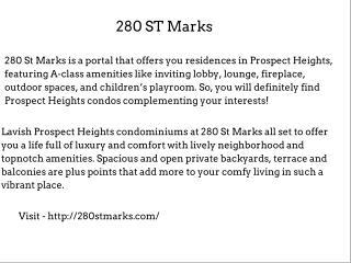 280 St Marks