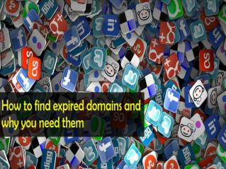 Find Expired Domain Names from Our Expired Domain Baron Services