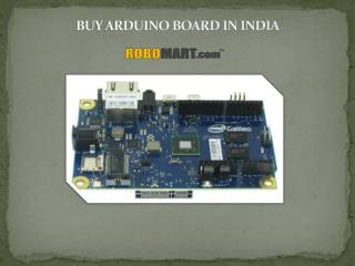 Buy Arduino Board In India