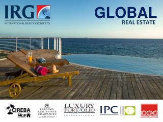 IRG is a prominent name to fine spectacular property in Cayman