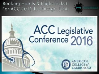 Best Hotels Booking For ACC Conference