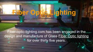 Fiber Optic Lighting