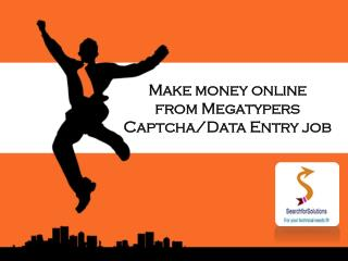 Online Data Entry Jobs without Investment | Home Based Part Time Jobs | MegaTypers Work Online